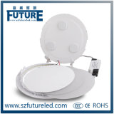 teto Recessed magro super Downlight do diodo emissor de luz de 6W Square&Round