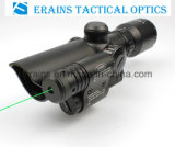 Attached GreenレーザーSightとのコンパクトな1.5-5X32 Rifle Scope Red GreenミルDOT Reticle