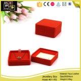 Petite boîte de bijoux de mode pure simple de couleur (8111)