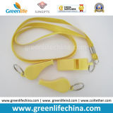 Silbidos promocionales plásticos estándar coloridos del acollador de la fuente directa de la fábrica de China