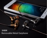 iPhone LG等のための工場Price X46m Detachable Metal Headphones