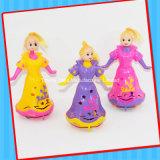 Het hete Verkopende Plastic Stuk speelgoed van de Jonge geitjes van Doll met Zoet Suikergoed