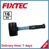 Martelo de borracha da ferramenta 16oz de Fixtec com punho da fibra