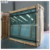 PVB를 가진 12.38mm Low Iron Laminated Safety Glass