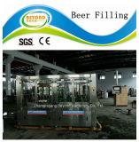 El estallido puede línea de relleno/línea de relleno conservada de la cerveza