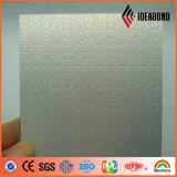 Panneau ondulé extérieur en aluminium revêtu PVDF (Gold Metallic 011)