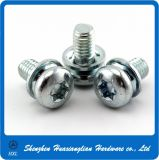 QuerRecessed Hex Head Combination Screw Bolt mit Washers