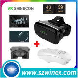 Bluetooth Gamepad + Virtual Reality 3D Glasses Vr Shinecon