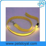 Acessórios para animais de estimação de fábrica LED Nylon Pet Dog Leash Lead