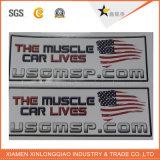 Autoadesivo adesivo impermeabile resistente stampato del contrassegno di stampa di luce solare di carta della graffiatura