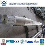 Eixo de transmissão marinho forjado da hélice do barco