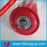 Huayueのゴム製コンベヤーベルト付けシステムローラーのアイドラー直径89-159mm