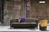 Sofa Furniture를 위한 Fabric Sofa를 가진 Chesterfield Sofa