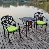 屋外の庭の家具簡単なパターン鋳造アルミのテラスの家具