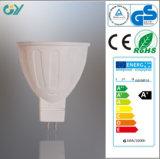 lampe de tache de 3000k MR16 6W LED avec du CE RoHS SAA