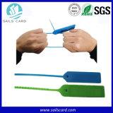 Sello ISO18000-6c UHF con cierre de cremallera Etiqueta RFID pasiva