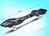 2016 het Nieuwe Model 2 Materiële Skateboard van het Wiel pp met het Wiel van Pu