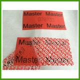 De douane maakt tot het Gebruik van Één Keer Transparante Stamper Duidelijke Stickers