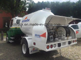 工場ASMEシリンダーおよびホテルのためのBobtailトラックを補充するLPG 5500リットルの
