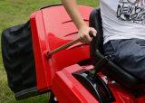 trator profissional do gramado 40inch com coletor da grama