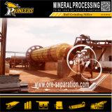 Moinho de esfera longo mineral molhado de moedura do equipamento da mineração da capacidade elevada