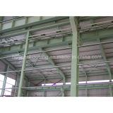 Almacén cómodo del marco de acero del bajo costo de la casa prefabricada
