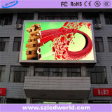 Módulo rojo al aire libre de la visualización de LED del monocromo (P6, P8, P10, P16)