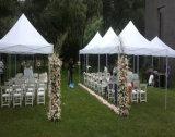 ロマンチックな玄関ひさしの結婚披露宴のテントのライニングファブリックTb590