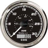 85mm quadrati GPS Speedometer 30 Knots con Compass 12V 24V