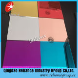 Espejo del aluminio del bronce/del flotador del color azul/rojo