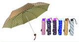 Зонтик цветастой конструкции прямой автоматический (YS-SA23083925R)