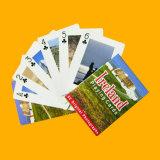 Cartões educacionais plásticos feitos sob encomenda dos cartões de jogo na caixa da tampa