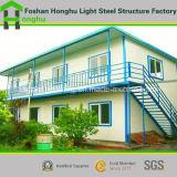 Het lichte Huis van het Geprefabriceerd huis van het Frame ontwerpt PrefabHuis