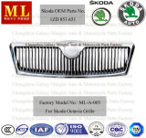 Bon Chromed Auto Radiator Grille pour Skoda Octavia From 2004 (1ZD 853 651)