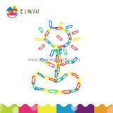 Plástico Aprendizaje plástico eslabones de la cadena para Niños Juego