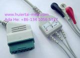 Cable de Nihon Kohden Snap&Clip 3 ECG