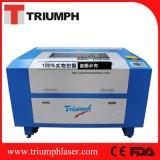 Máquina de gravura de borracha de couro plástica de madeira da estaca de máquina do laser do CO2 do gravador do cortador do laser de 80 watts