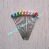 Commercio all'ingrosso 55mm Ball Shaped Pearl Head Muslim Brooch Hijab Scarf Pins