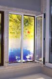Completamente ventana de aluminio de apertura del oscilación del espesor de la aleación