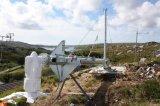 Wind-Stromnetz Rasterfeld-Gebundene heiße Verkäufe 5kw