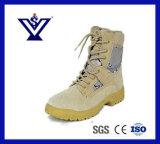 安全警察の軍の戦術的な刺し傷の抵抗力があるレザー・ブーツ(SYLB-060)