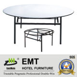Foldable Strong Metal Frame (EMT-FT602)のホテルBanquet Table