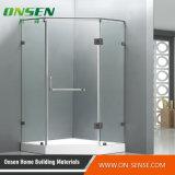 Sitio de ducha sin llamar de aluminio de la puerta para el cuarto de baño