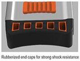 Конструкция, уровень коробки алюминиевой рамки профессиональный с магнитами