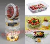 Пластичный поднос еды делая машину