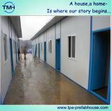 Pequeña casa prefabricada de la azotea plana en Suráfrica