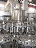 ペット500mlびんのりんごジュースの充填機