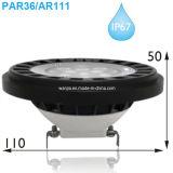 Lumières imperméables à l'eau de l'horizontal PAR36 pour l'éclairage extérieur