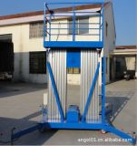 Plataforma estable segura de la elevación del hombre para el mantenimiento