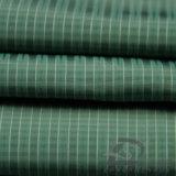 40d 300t Revestimento de moda resistente à água e à prova de vento Revestimento para baixo Tecido Jacquard 100% poliéster tecido de filamento de ilha do mar (X045)